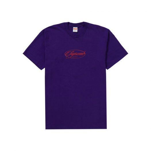 Supreme Classics Tee Purple