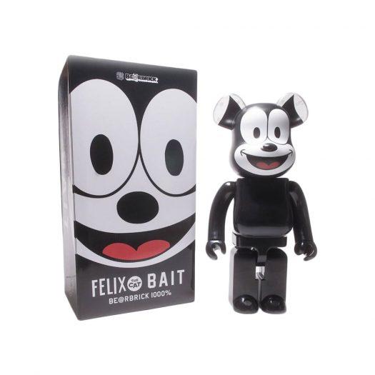 Bearbrick x BAIT x Medicom x Felix the Cat 1000%