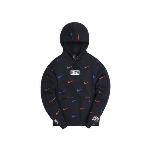 Kith & Nike for New York Knicks AOP Hoodie Black
