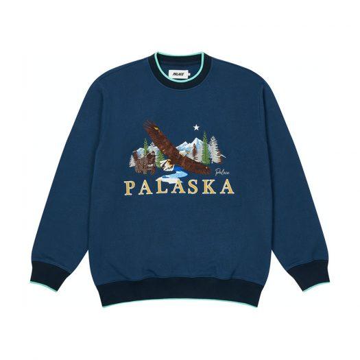 Palace Palaska EMB Crew Blue