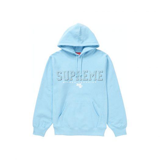 Supreme Gems Hooded Sweatshirt Ice Blue