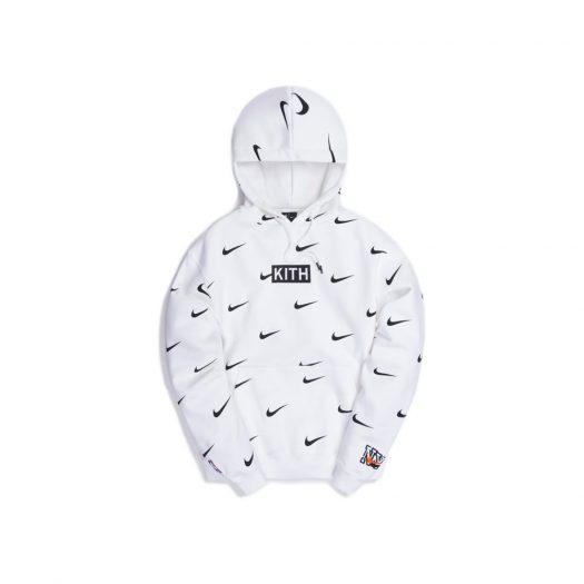 Kith & Nike for New York Knicks AOP Hoodie White