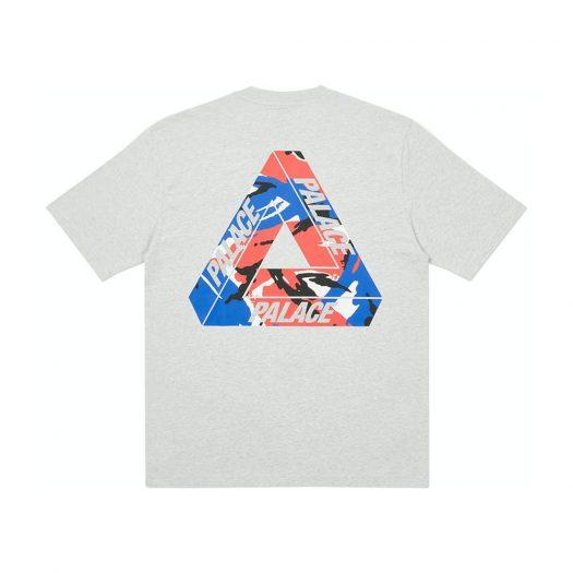 Palace Tri-Camo T-Shirt Grey Marl