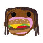 Travis Scott x McDonalds CJ Burger Mouth Rug