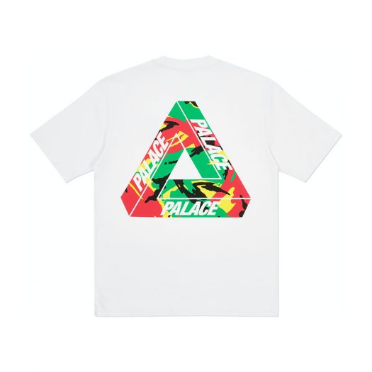Palace Tri-Camo T-Shirt White
