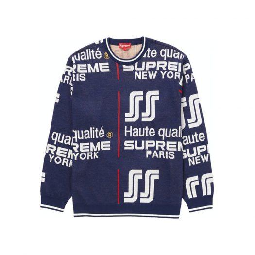 Supreme Qualite Sweater Navy