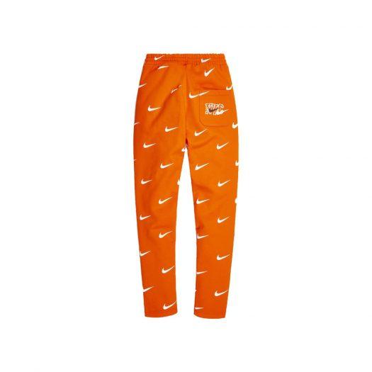 Kith & Nike for New York Knicks AOP Fleece Pant Orange