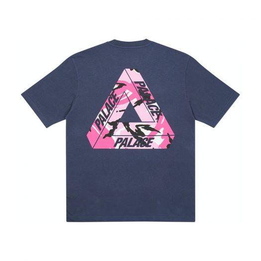 Palace Tri-Camo T-Shirt Navy