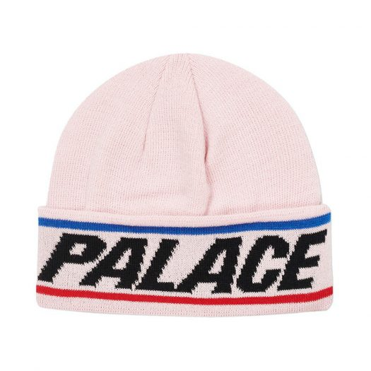 Palace S-Line Beanie Pink