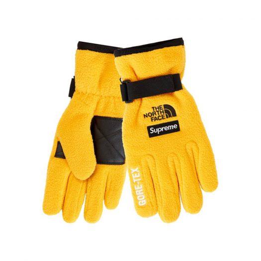 Supreme The North Face RTG Fleece Glove Gold