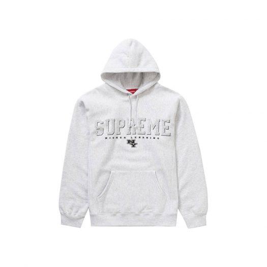 Supreme Gems Hooded Sweatshirt Ash Grey
