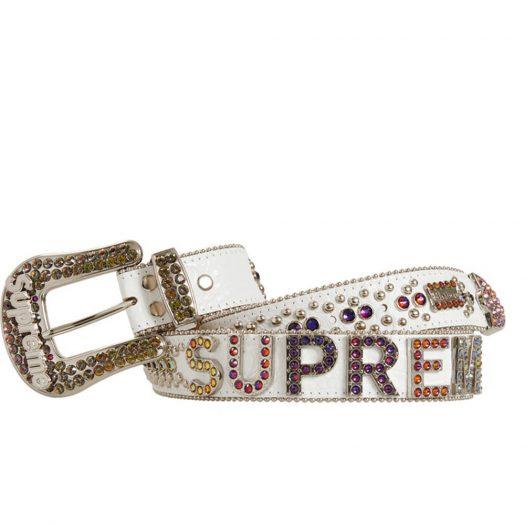 Supreme b.b. simon Belt White