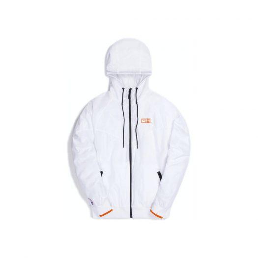 Kith & Nike for New York Knicks Windrunner Jacket White
