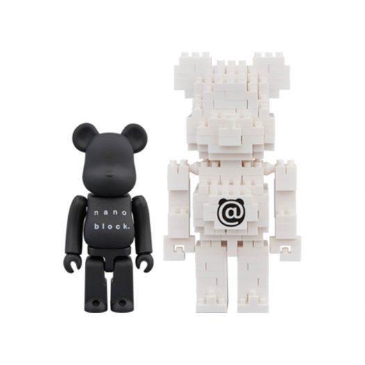Bearbrick Nanoblock 2 Pack Set B 100% Black/White