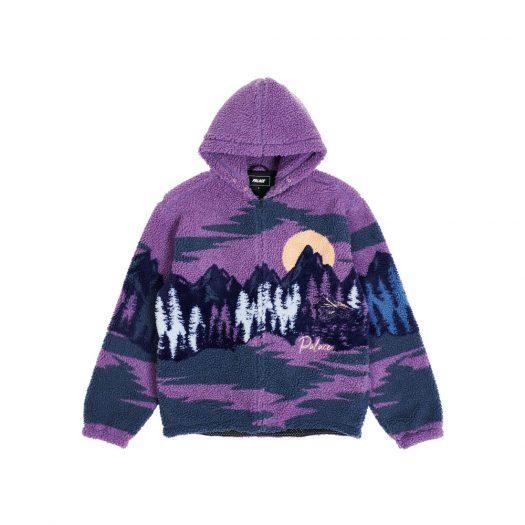 Palace Palaska Fleece Jacket Purple