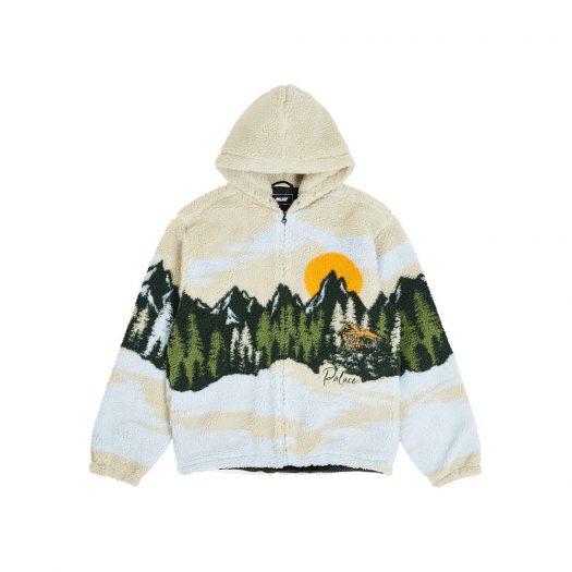 Palace Palaska Fleece Jacket Beige