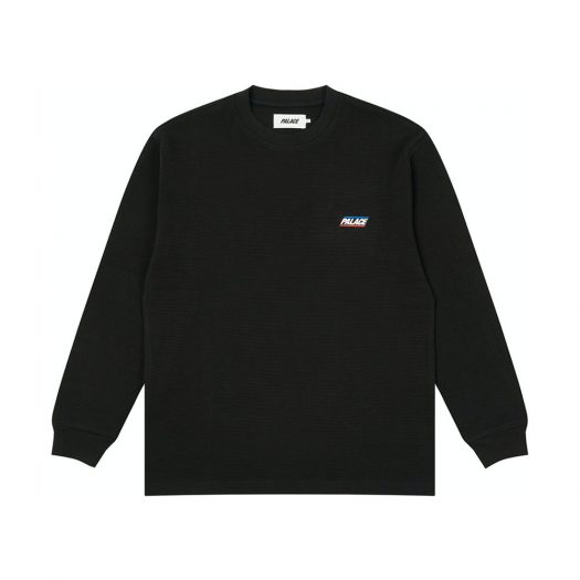 Palace Thermal Longsleeve Black