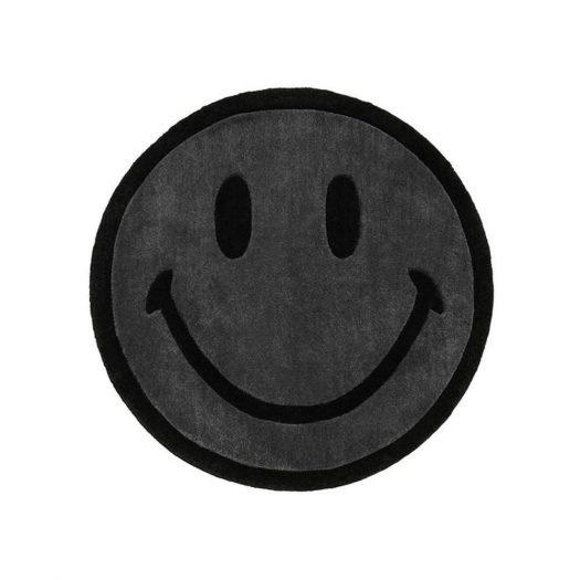 Chinatown Market Monochrome Smiley (6 ft) Rug