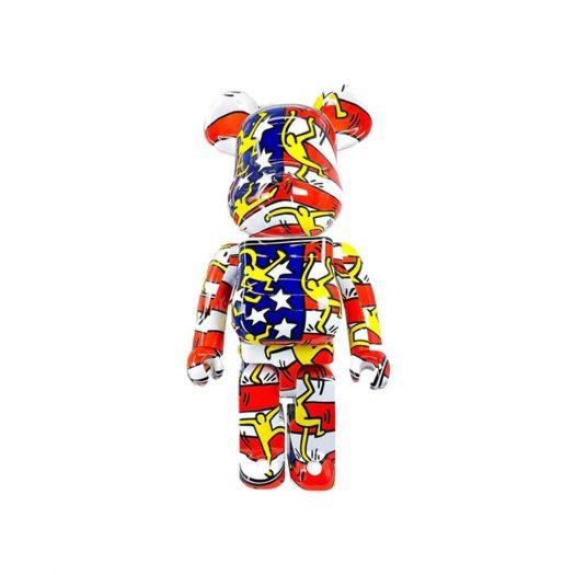 Bearbrick Keith Haring DesignerCon 1000%