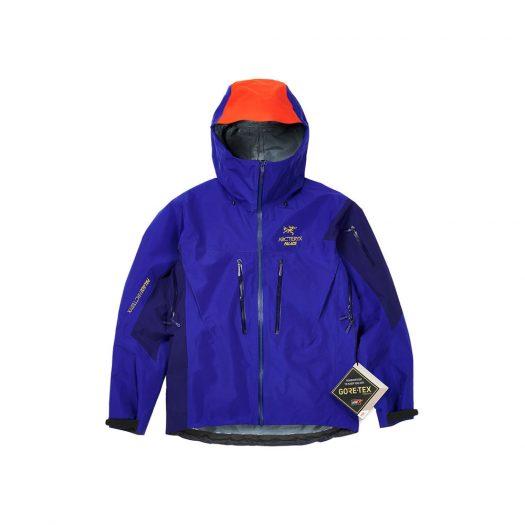 Palace Arc'Teryx Alpha SV Jacket Blue