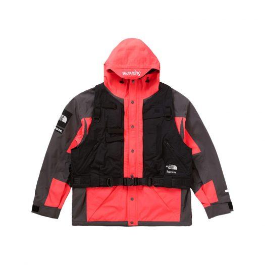 Supreme The North Face RTG Jacket + Vest Bright Red