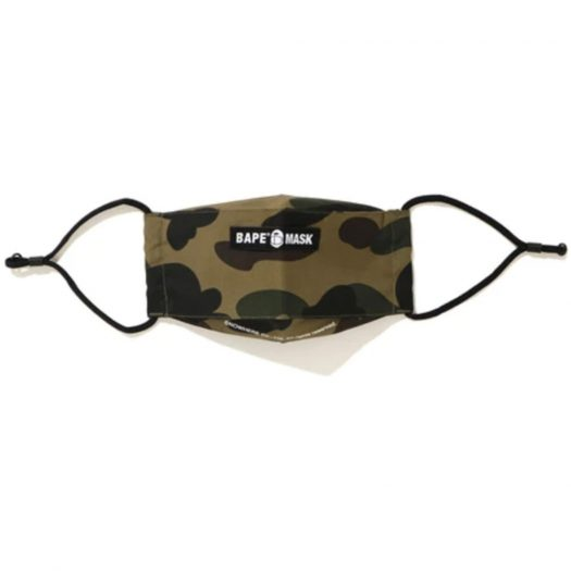Bape 1st Camo Mask Green