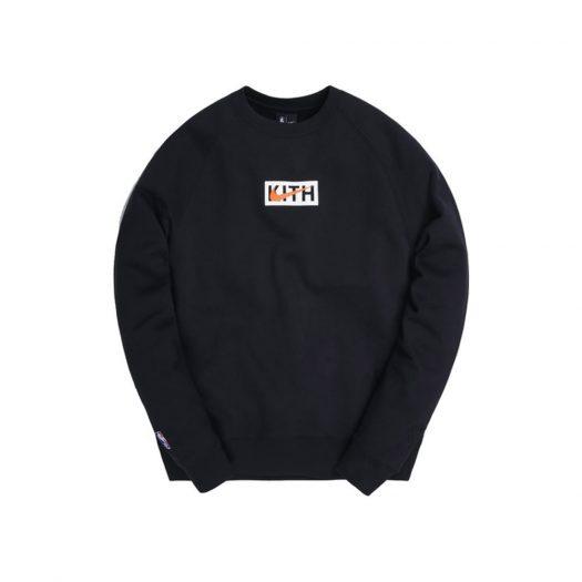 Kith & Nike for New York Knicks Fleece Crewneck Black