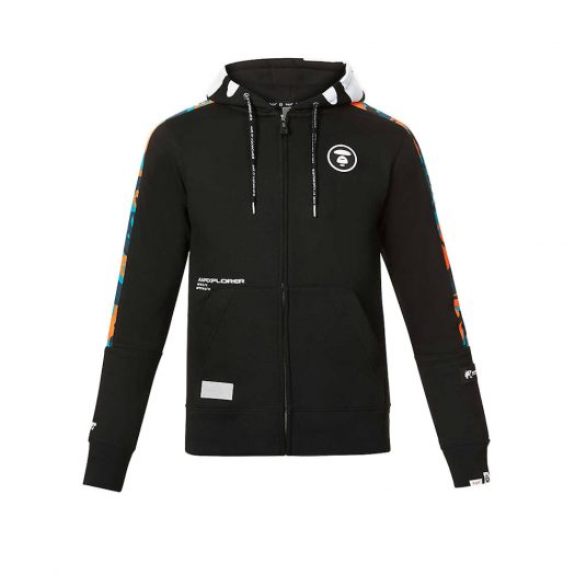 Aape Brand-patch Cotton-blend Hoody