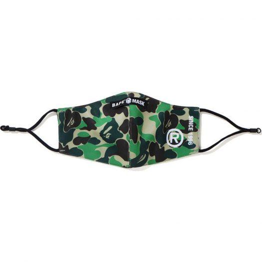 Bape Abc Camo Mask Fw20 Green