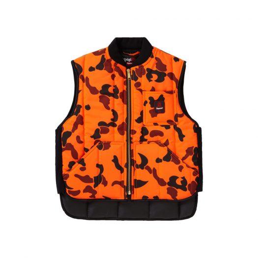 Supreme RefrigiWear Insulated Iron-Tuff Vest Orange Camo