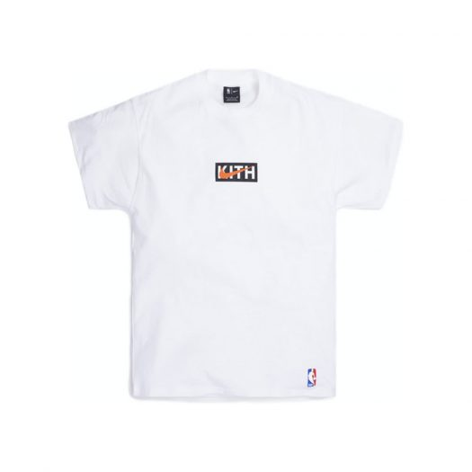 Kith & Nike for New York Knicks Tee White