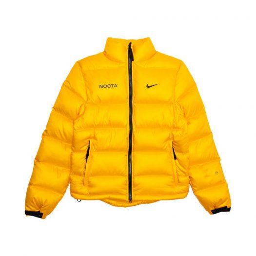 Nike x Drake NOCTA Puffer Jacket Yellow