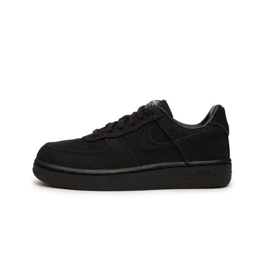 Nike Air Force 1 Low Stussy Black (PS)