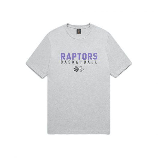 Ovo X Raptors Pre-game T-shirt Grey