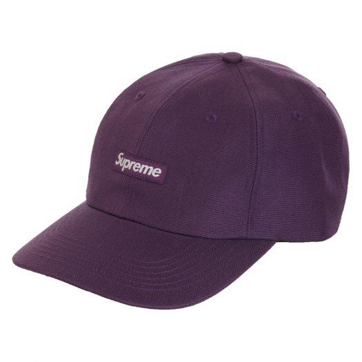 Supreme Cordura Small Box 6-Panel Purple