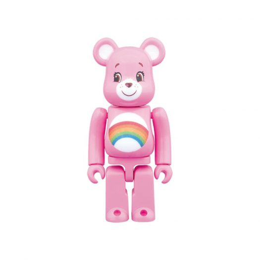 Bearbrick Cheer Bear 100% Pink