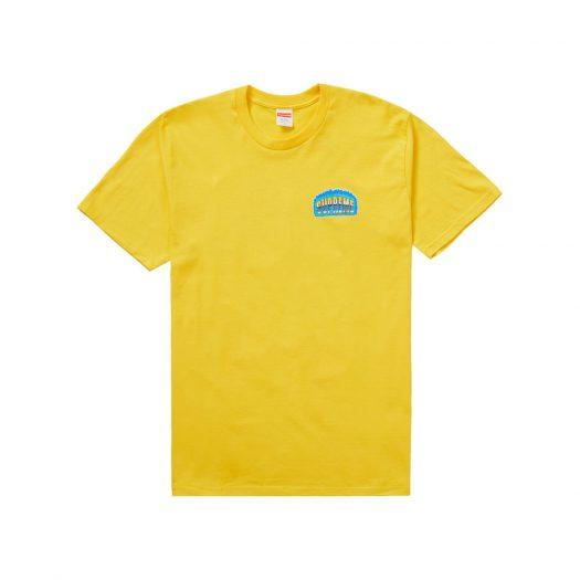 Supreme Chrome Tee Yellow