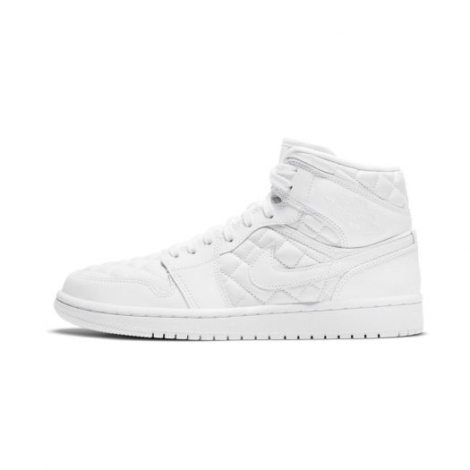 Jordan 1 Mid Quilted White (W)