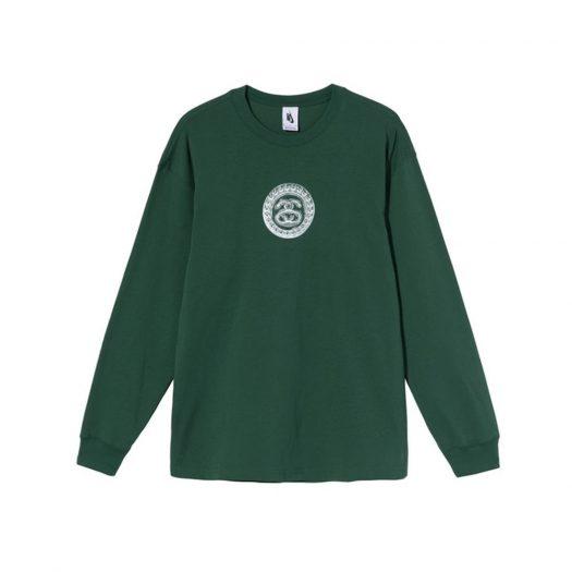 Nike x Stussy SS Link L/S T-Shirt Green