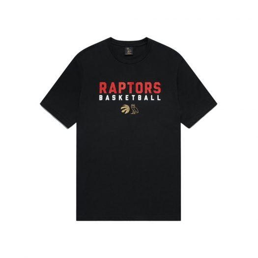 Ovo X Raptors Pre-game T-shirt Black