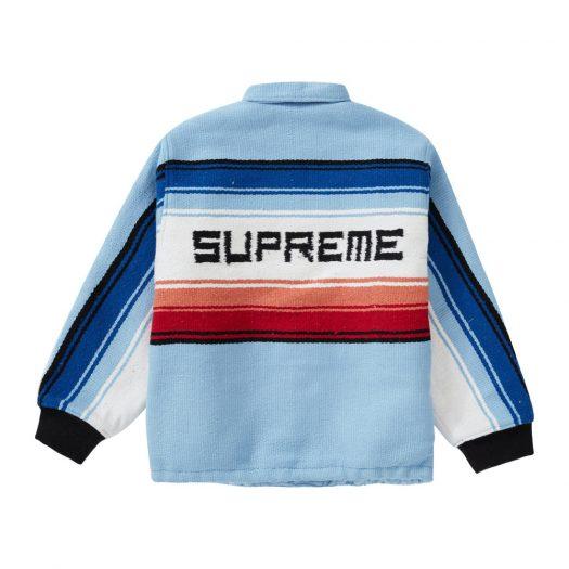 Supreme Tlaxcala Blanket Jacket Light Blue