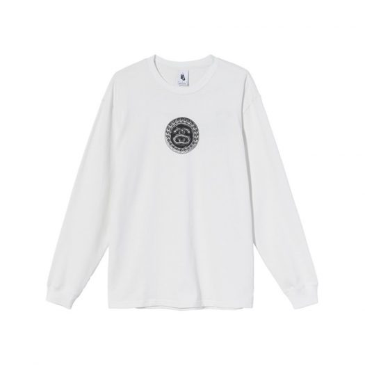 Nike x Stussy SS Link L/S T-Shirt White