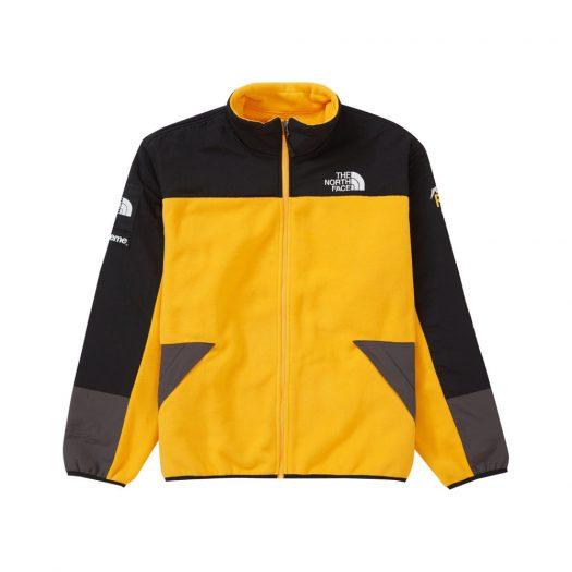 Supreme The North Face RTG Fleece Jacket Gold