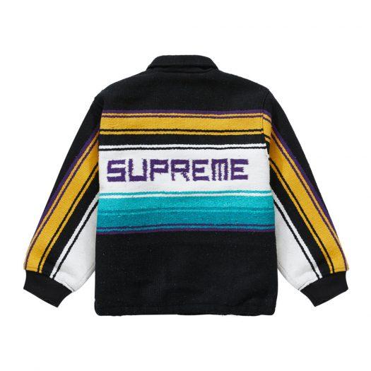 Supreme Tlaxcala Blanket Jacket Black