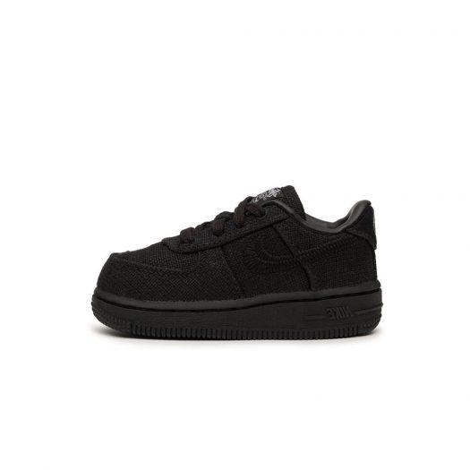 Nike Air Force 1 Low Stussy Black (TD)