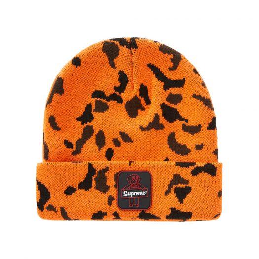 Supreme RefrigiWear Beanie Orange Camo