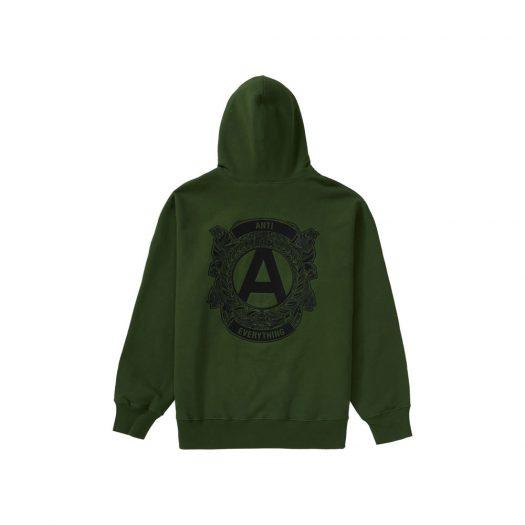 Supreme Anti Hooded Sweatshirt Green