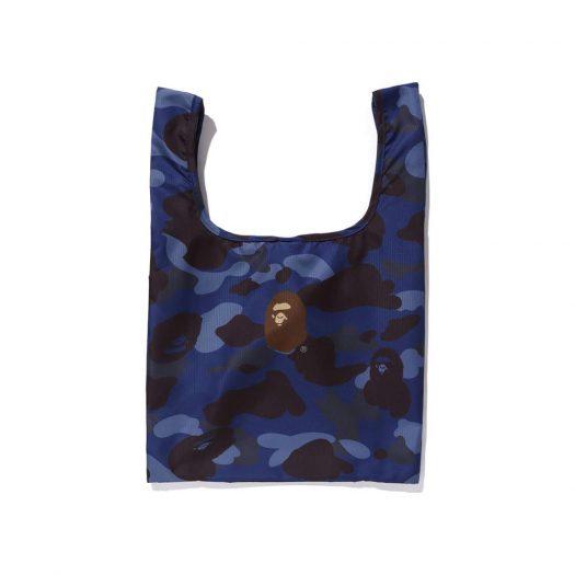 Color Camo Shopping Bag M Blue