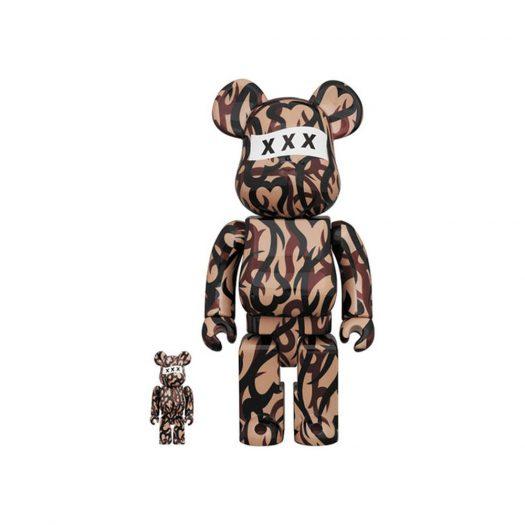 Bearbrick NUMBER (N) XXX 100% & 400% Set