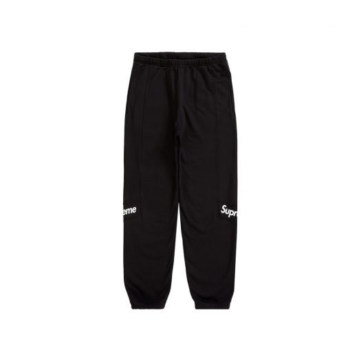 Supreme Color Blocked Sweatpant Black